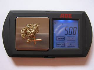 5.08 grams of scrap gold bought and sold in 2010 by GOLDIVANTI LP