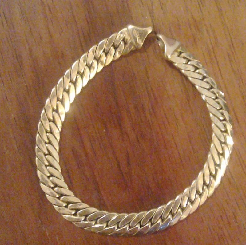 Scrap gold bracelet