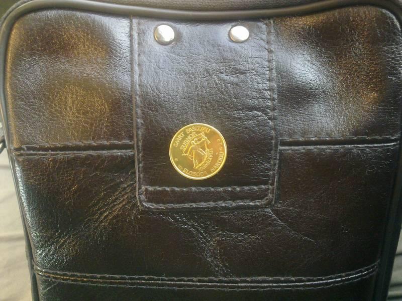 Gold coin of former Yugoslavia