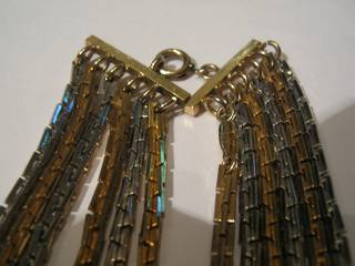 Christian Dior Jewelry from 1974 with gold, silver and diamonds