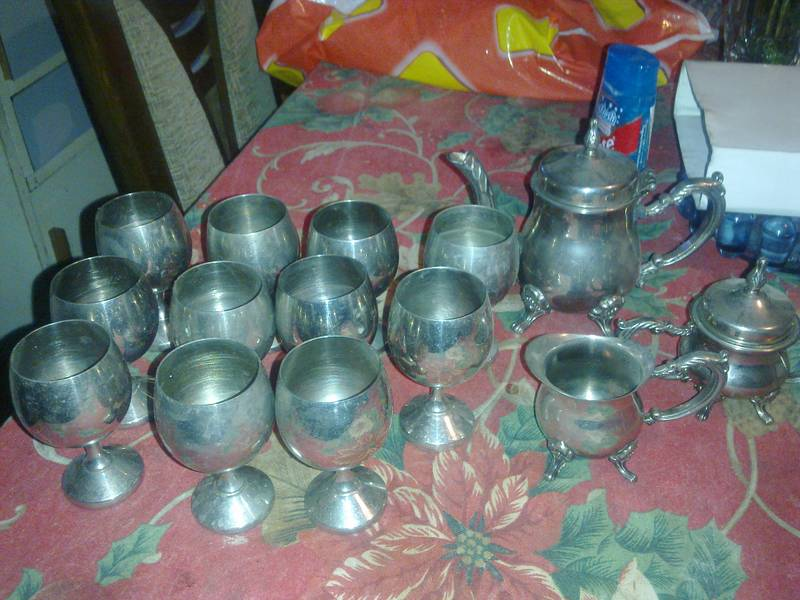 Cups and silverware
