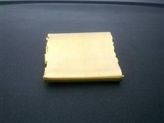 Refined gold sheet