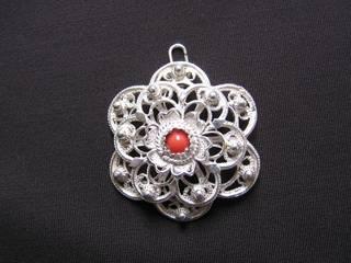 Filigree of silver jewelry