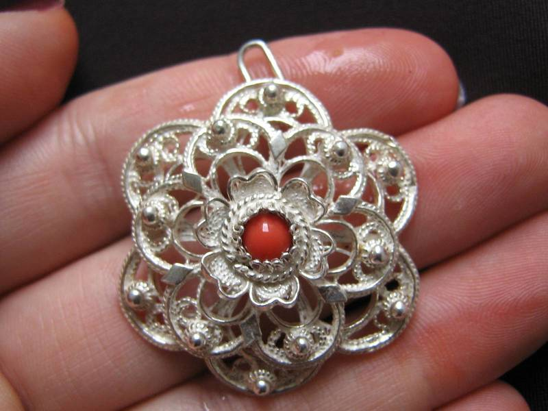 Filigree silver jewelry