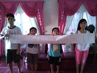 Go Goldivanti Gold! -- Greetings from Sandy Orencia from Philippines