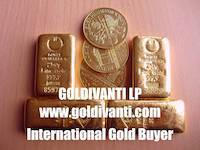 Gold bars of 250 grams and Vienna Philharmonic gold coins