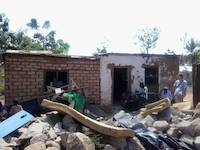 The poor house of the orphanage in Mwanza, Tanzania