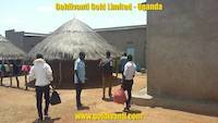 Accommodation in lodges in Northern Uganda