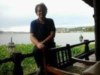 Robert Stažnik in Mwanza, Tanzania