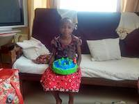 Wema, the orphan, is taken care of by good friends in Mwanza