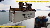 CIF is term used for sea and inland waterway transport, not for gold deliveries