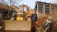 Backhoe loader in Croatia for 7000 euro
