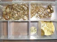 Beautiful box of scrap gold on August 31st 2010