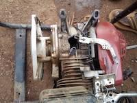 Broken water pump