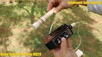 Falcon MD20 Gold Detector for gold prospecting in rocks