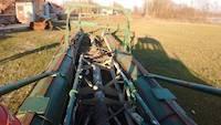 Dredging boat