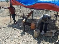 Pictures from gold mining sites, September 2016