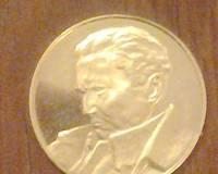 Titov zlatnik, gold coin of Tito of Yugoslavia