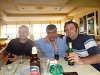 Mihael Vidas and Russian friends