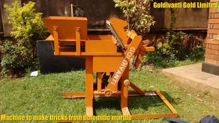 Compressed Earth Block Machine in Kampala, Uganda