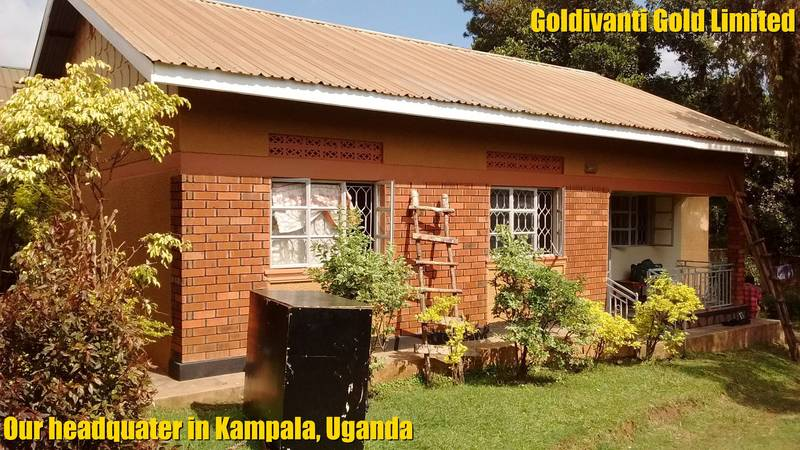 GOLDIVANTI GOLD LIMITED headquarter in Kampala, Uganda